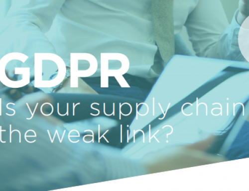 GDPR – Is your supply chain the weak link?